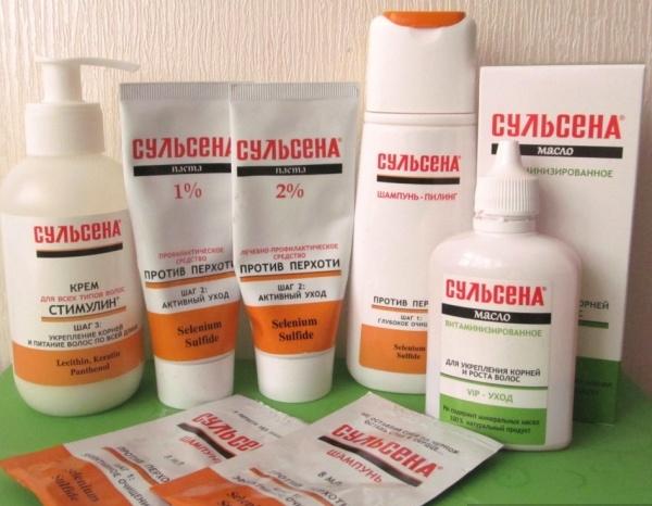Аптечные средства для укрепления волос